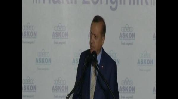 Başbakan Erdoğan, Askon'un İftarinda Konuştu
