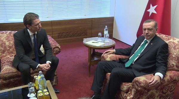 Başbakan Erdoğan, Avusturya Dışişleri Bakanı Sebastian Kurz'u Kabul Etti