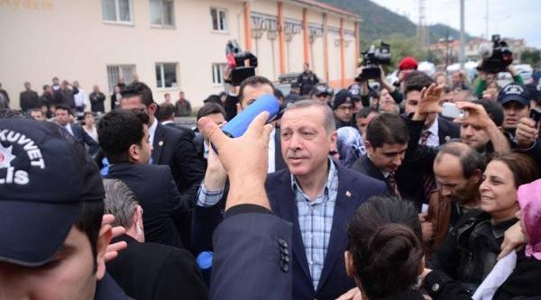 Başbakan Erdoğan, Fethiye'Ye Gitti