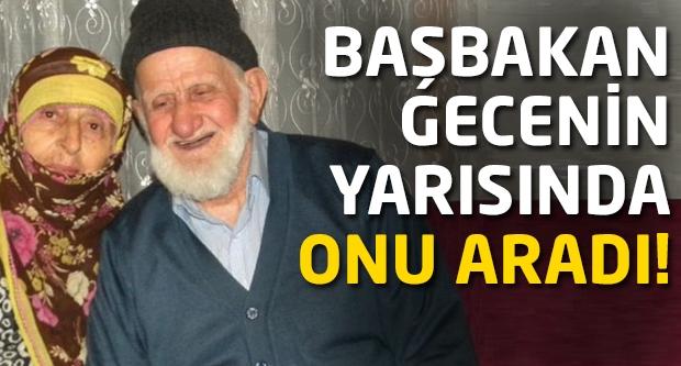 Başbakan Erdoğan gece yarısı onu aradı...