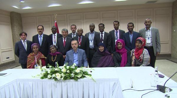 Başbakan Erdoğan, Global Somali Diasporası Heyeti İle Görüştü