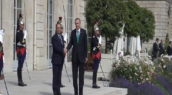 Başbakan Erdoğan - Hollande Görüşmesi
