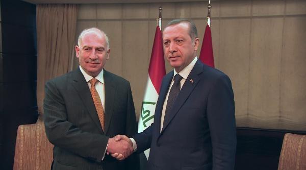Başbakan Erdoğan, Irak Meclis Başkanı Nuceyfi İle Görüştü