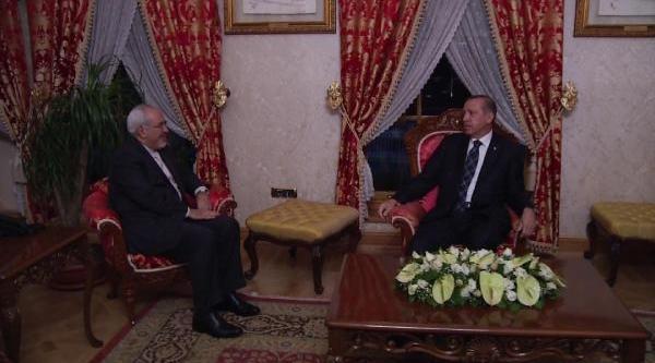 Başbakan Erdoğan, Iran Dişişleri Bakani Ile Görüştü