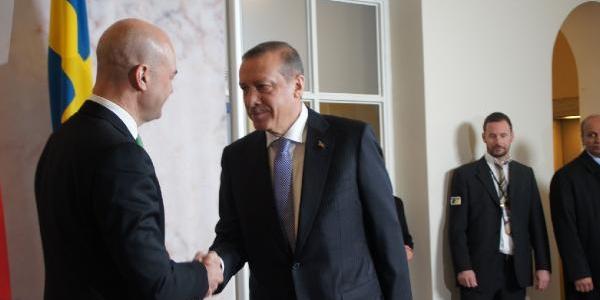 Başbakan Erdoğan, Isveç Başbakani Ile Bir Araya Geldi
