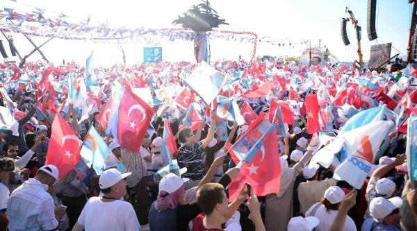 Başbakan Erdoğan İzmir Mitinginde Konuştu (fotoğraflar)