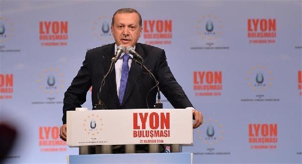 Başbakan Erdoğan Lyon'da Konuştu: