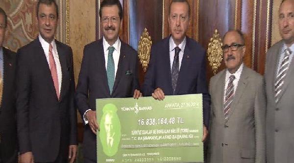 Başbakan Erdoğan, Tobb Heyetiyle Görüştü