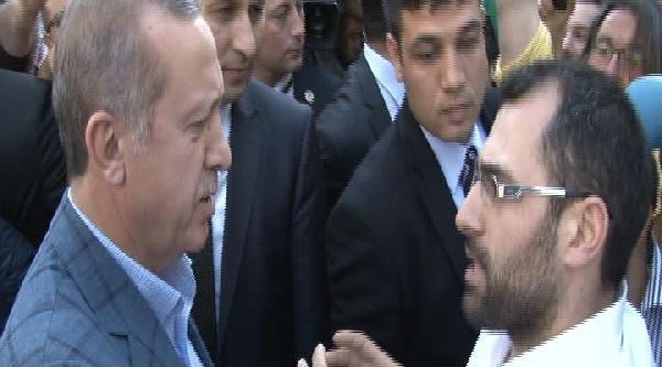 Başbakan Erdoğan Vatandaşlarla Sohbet Etti
