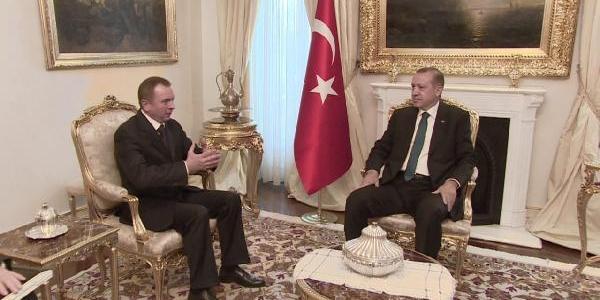Başbakan Erdoğan Ve Belarus Dişişleri Bakani Vladimir Makey Ile Görüştü