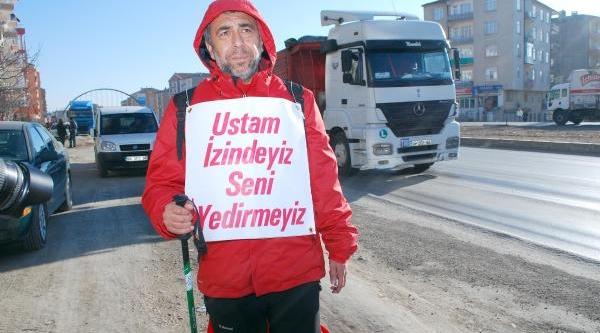 Başbakan Erdoğan'A Destek Için Ankara'Ya Yürüyor