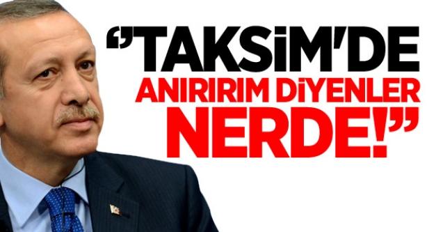 Başbakan Erdoğan'dan Aynı Mesaj