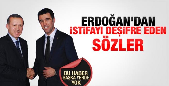 Başbakan Erdoğan'dan Şükür'ün istifasına yorum...
