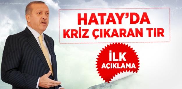 Başbakan Erdoğan'dan TIR Açıklaması...