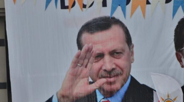 Başbakan Erdoğan'ın Denizli Mitinginde 100 Hafız Kuran Hatmetti