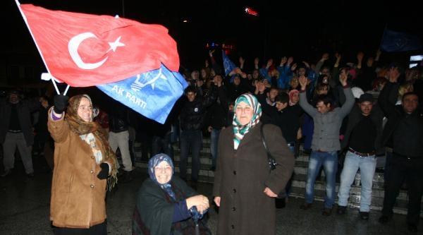 Başbakan Erdoğan'ın Memleketi Rize'de Horonlu Kutlama