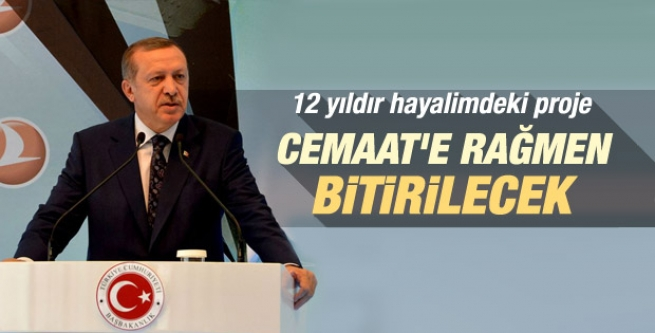 Başbakan Erdoğan'ın THY tesis açılışı konuşması