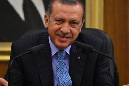 Başbakan Erdoğan'ın torun sevinci!