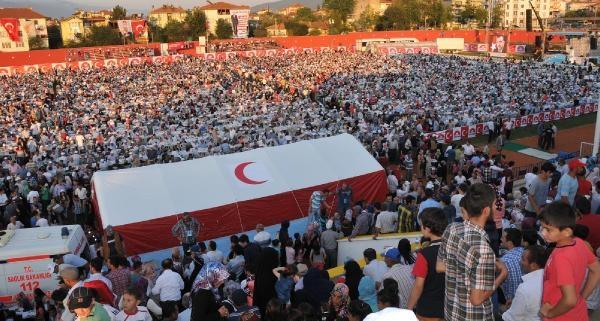 Başbakan Recep Tayyip Erdoğan Tokat'ta (ek Fotoğraflar)