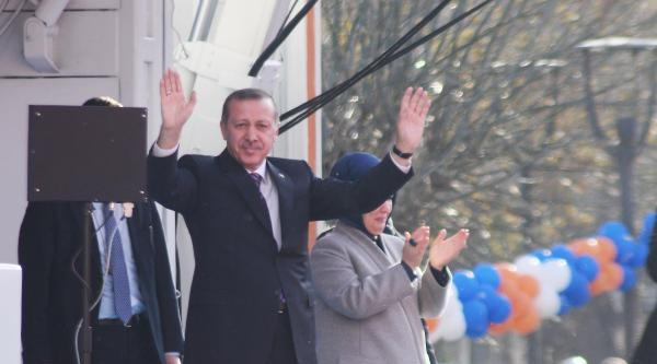 Başbakan Recep Tayyip Erdoğan Uşak'ta Halka Seslendi - Fotoğraflar