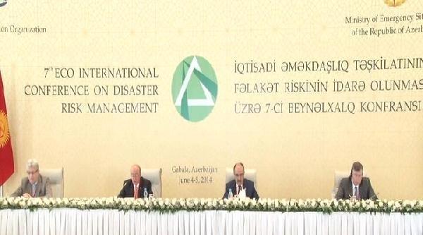 Başbakan Yardımcısı Atalay, Azerbaycan'da Afet Risk Yönetim Toplantısı'na Katıldı