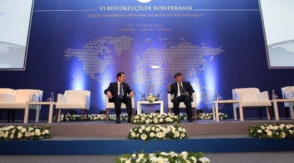 Başbakan Yardimcisi Emrullah Işler, Büyükelçilere Hitap Etti