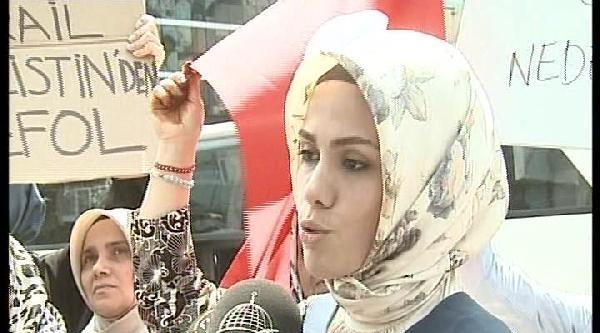 Başbakan'ın Kızı Esra Albayrak İsrail Protestosuna Katıldı