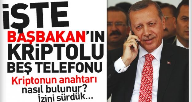 Başbakan'ın kriptolu 5 telefonu