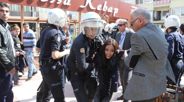 Başbakanın Mitingi Öncesi Tgb'li 20 Gence Gözaltı
