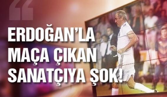 Başbakan'la maç yapan Yılmaz Erdoğan'a şok!