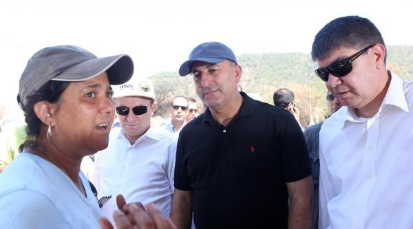 Başbakanlık'tan Adrasan'a 500 Bin Tl