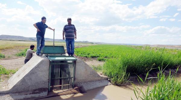 Basınçlı Sulama Sistemi Çalişmadi, Çiftçi Perişan