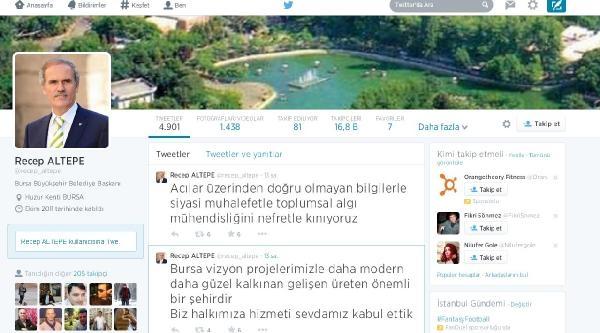 Başkan Altepe, Uludağ Bağlantı Yolu İle İlgili Eleştirilere Sosyal Medyadan Yanıt Verdi
