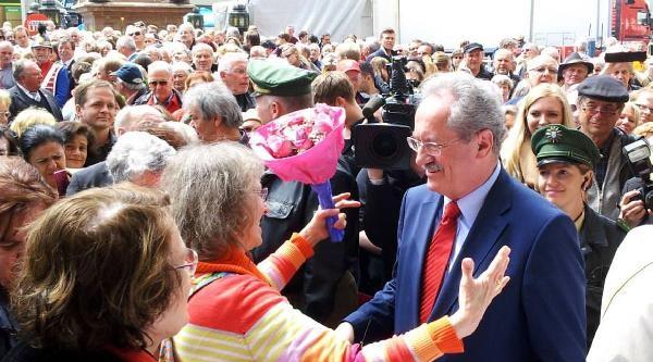 Başkan Chrıstıan Ude, Münihlilerle  Vedalaştı