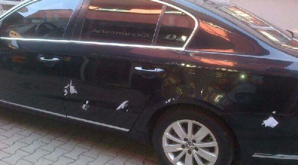 Başkanın Makam Aracına Silahlı Saldırıda 2 Gözaltı