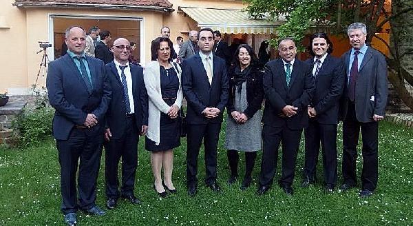 Başkonsolos Kaya Yeni Belediye Meclis Üyelerine Resepsiyon Verdi