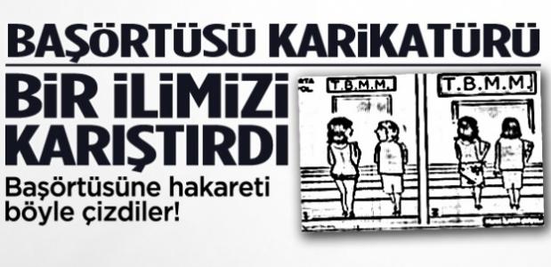 Başörtüsü Karikatürü Ortalığı Karıştırdı!