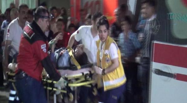 Bastığı Cam Tabaka Kırıldı 7 Metreden Düştü