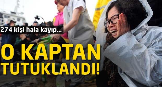Batan geminin kaptanı tutuklandı!