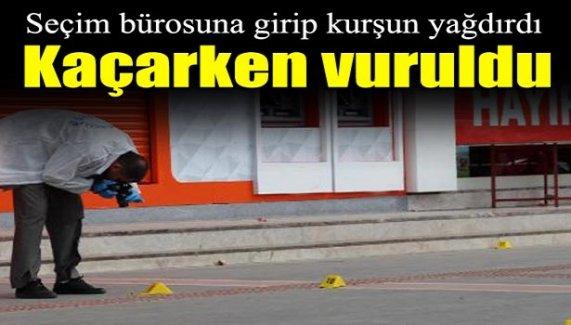 Batman'da AK Parti seçim lokaline silahlı saldırı!
