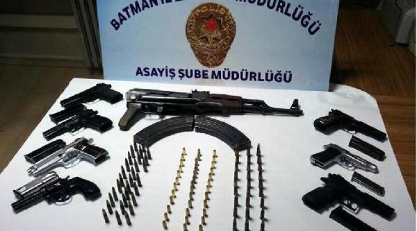 Batman'da Silah Ticareti Yapan 3 Kişi Tutuklandi