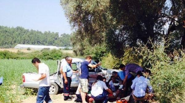 Bayram Ziyaretinde Kaza: 2 Ölü, 4 Yaralı