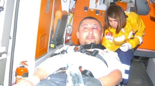 Bayramiç'Te Silahli Çatişma: 2 Polis Yaralandi