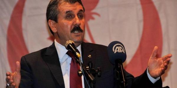 Bbp Genel Başkani Destici, Gaziantep'te Hükümeti Eleştirdi