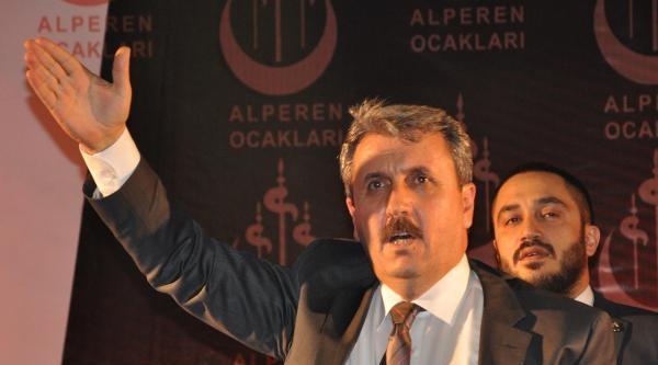Bbp Genel Başkanı Destici'den Ak Parti'ye Cemaat Eleştirisi