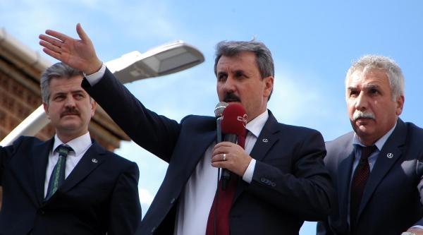 Bbp Lideri Destici: Bitlis'te Partiler Kendi Adaylarıyla Seçime Gidiyor