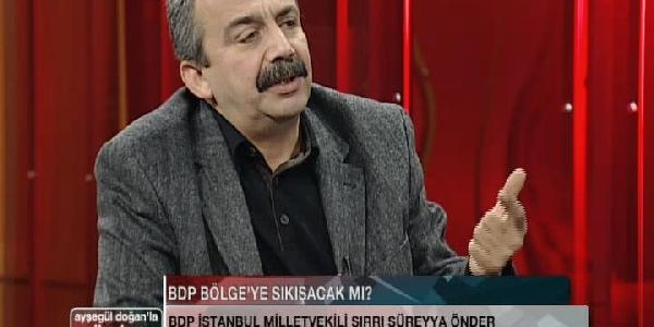 Bdp Milletvekili Önder: Benim Adayim Ben Değilim