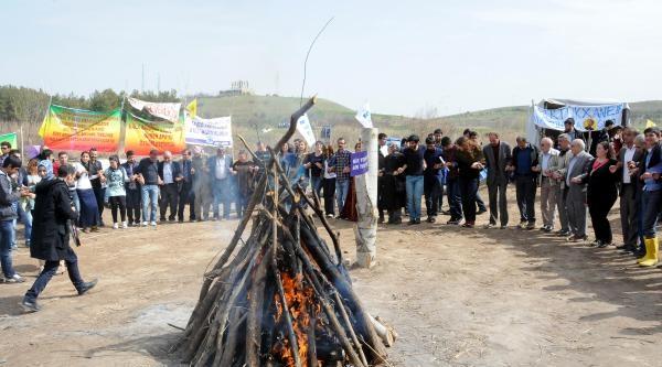 Bdp, Nevruz Ateşini Dicle Vadisi'nde Yaktı