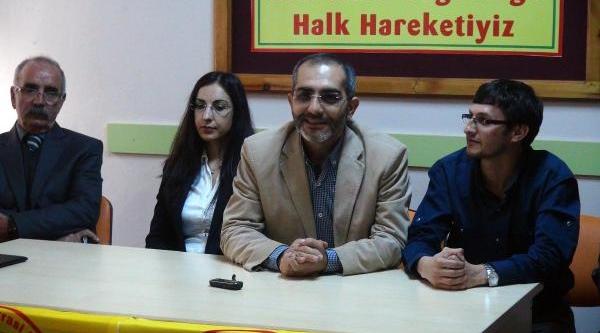 Bdp Tunceli'de Aday Adaylarini Tanitti