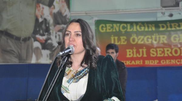 Bdp'den Hakkari'ye Kadin Belediye Başkan Adayi
